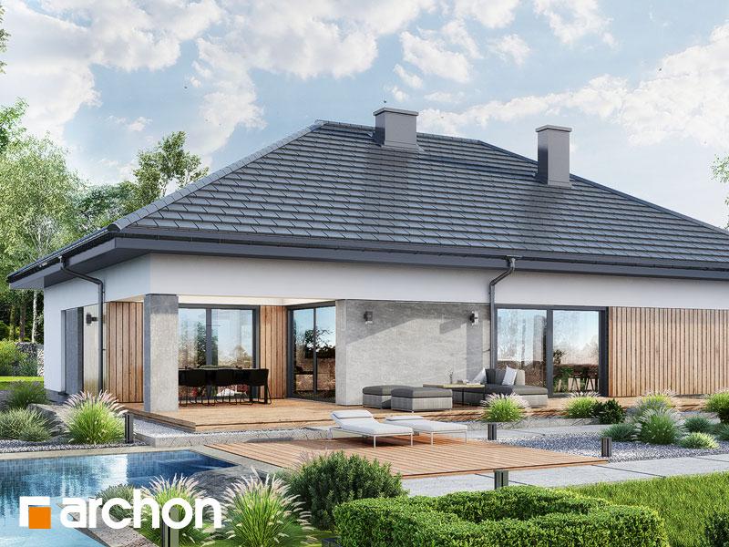 Проект будинку ARCHON+ Будинок в ренклодах 16 (Г2) Вид 2
