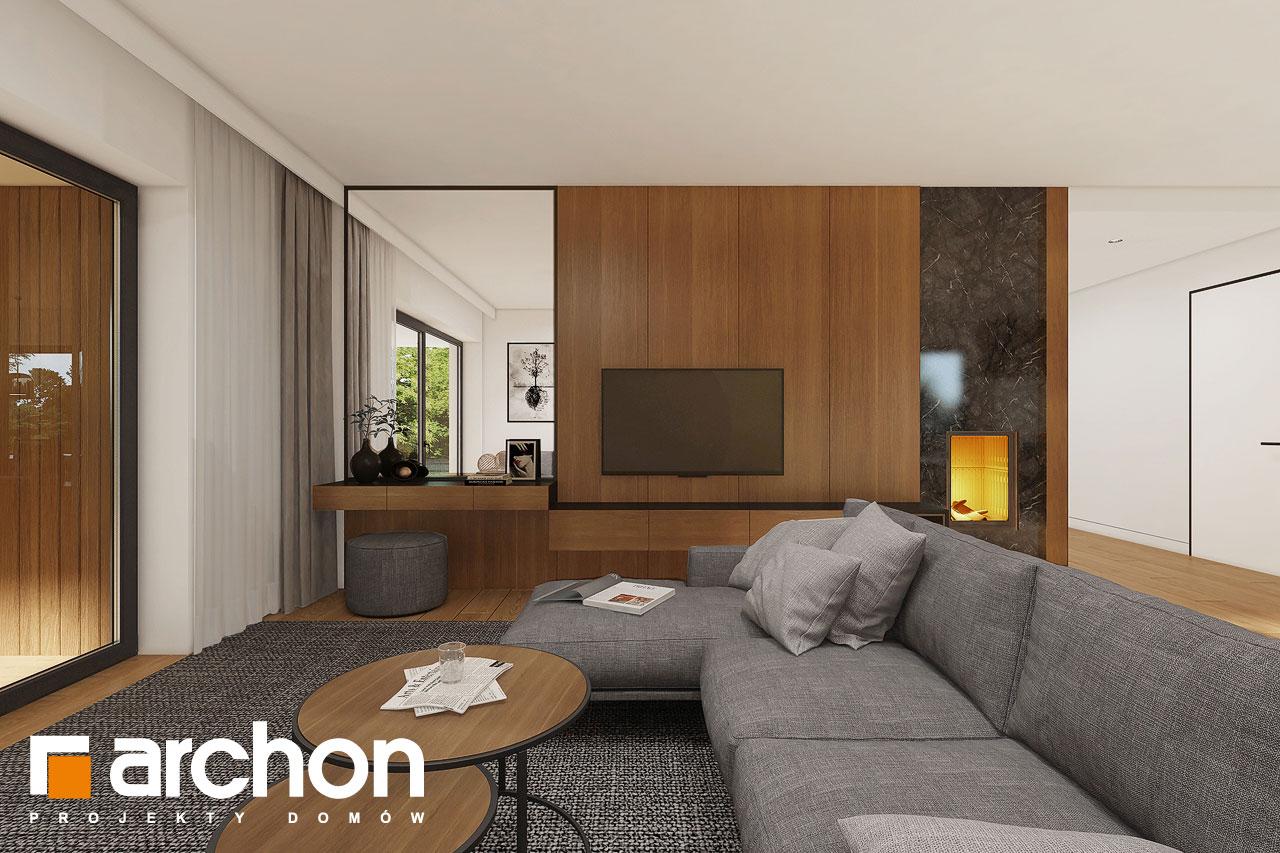 Проект будинку ARCHON+ Будинок в ренклодах 16 (Г2) денна зона (візуалізація 1 від 1)
