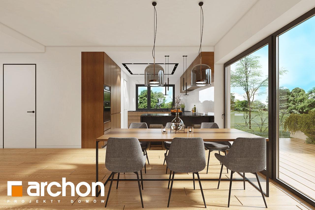 Проект будинку ARCHON+ Будинок в ренклодах 16 (Г2) денна зона (візуалізація 1 від 2)