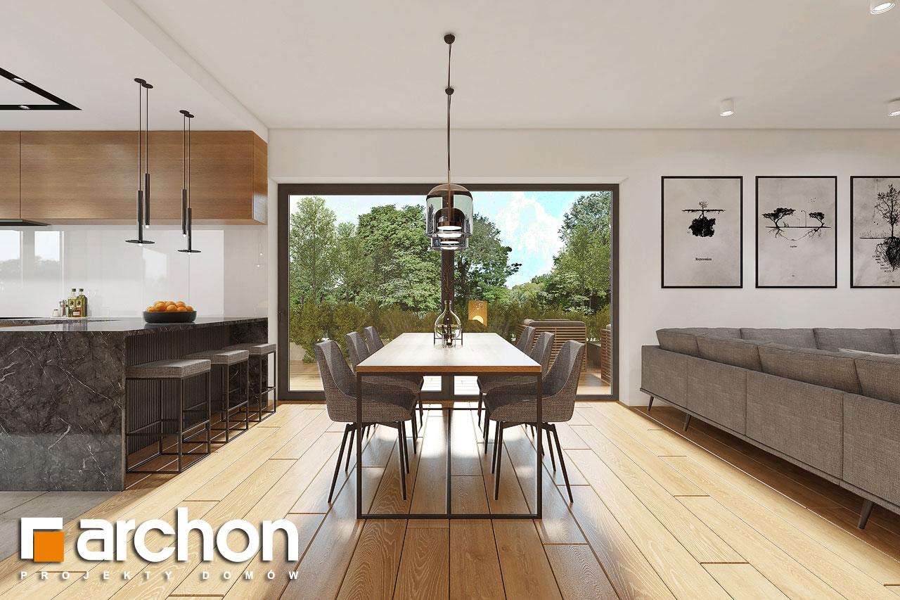 Проект будинку ARCHON+ Будинок в ренклодах 16 (Г2) денна зона (візуалізація 1 від 5)
