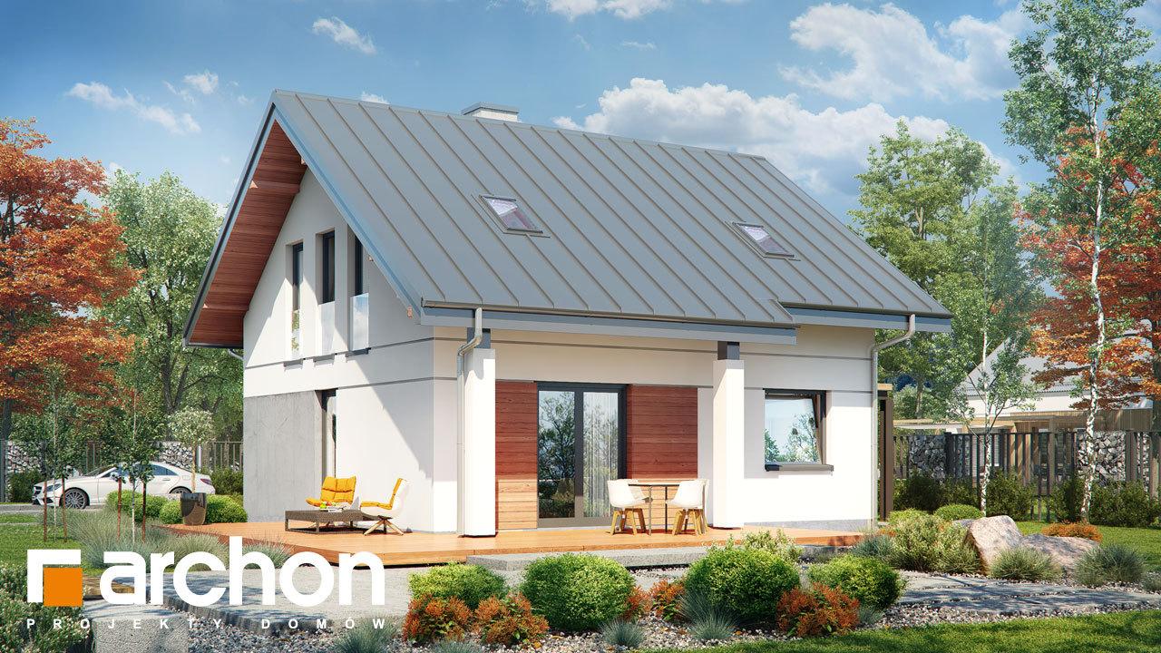 Проект будинку ARCHON+ Будинок мініатюрка (Н) вер.2