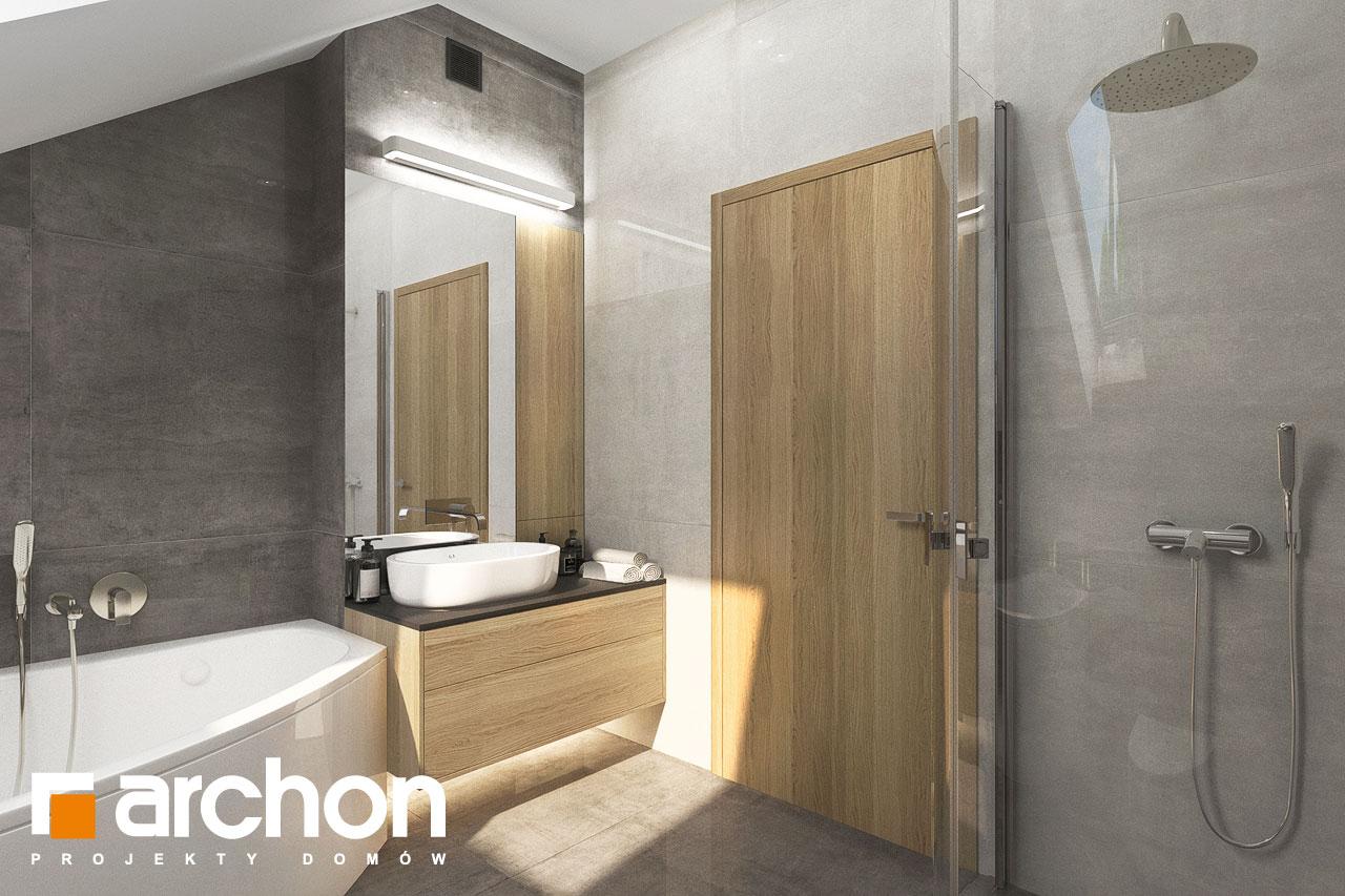 Проект будинку ARCHON+ Будинок мініатюрка (Н) візуалізація ванни (візуалізація 3 від 1)