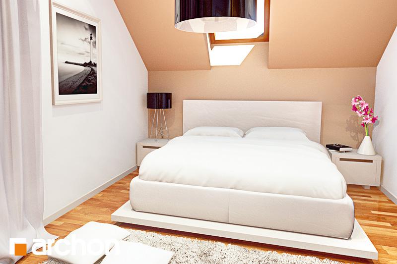 Проект будинку ARCHON+ Будинок мініатюрка (Н) вер.2 нічна зона (візуалізація 1 від 1)