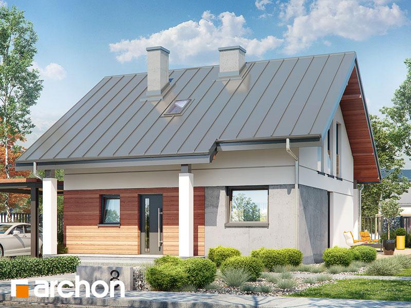 Проект будинку ARCHON+ Будинок мініатюрка (Н) вер.2 Вид 1