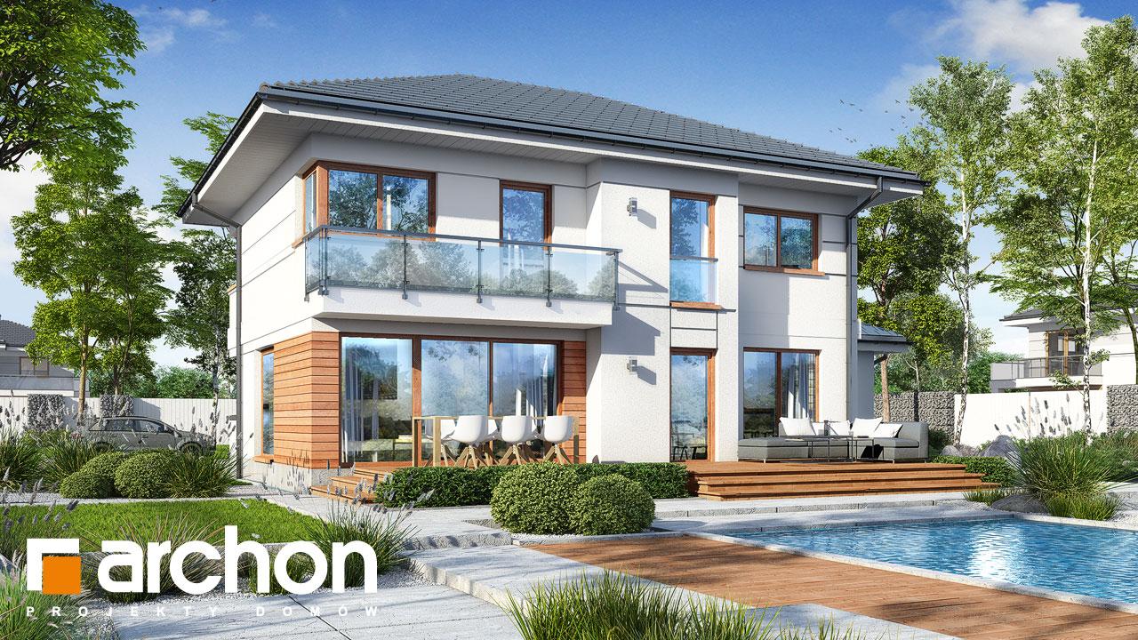 Проект дома ARCHON+ Вилла Констанция (Г2) Вид 2