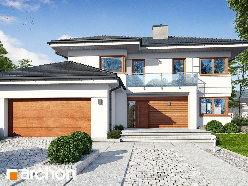 Проект дома ARCHON+ Вилла Констанция (Г2) Вид 1