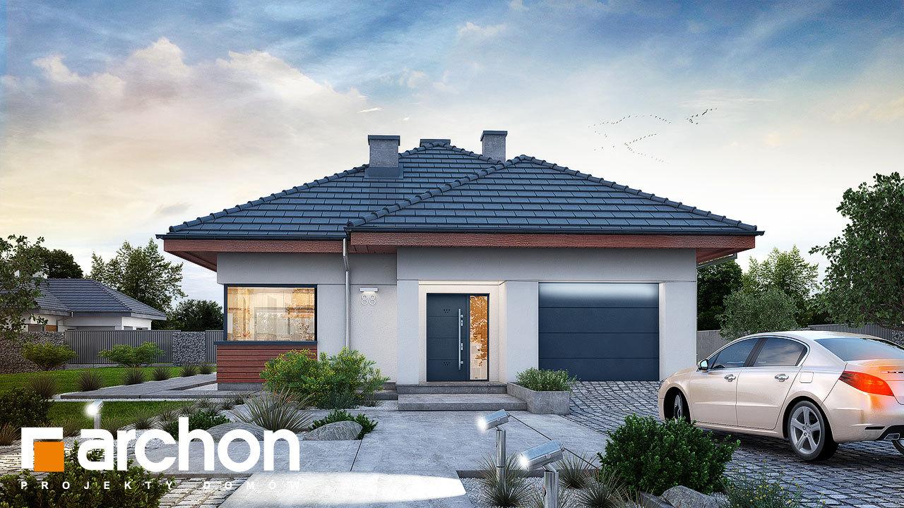 Проект будинку ARCHON+ Будинок у ренклодах 3