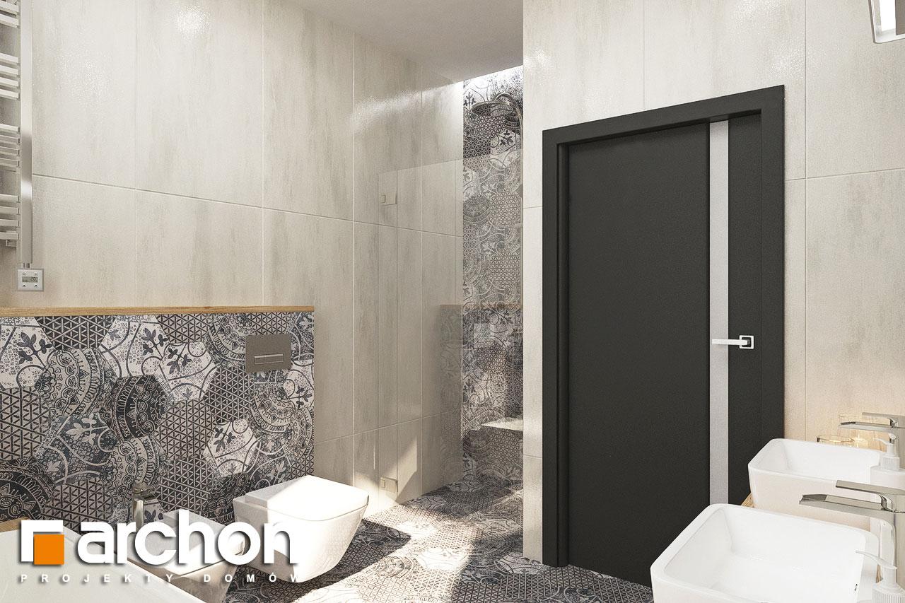 Проект будинку ARCHON+ Будинок у ренклодах 3 візуалізація ванни (візуалізація 3 від 3)