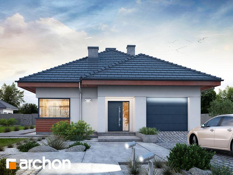 Проект будинку ARCHON+ Будинок у ренклодах 3 Вид 1