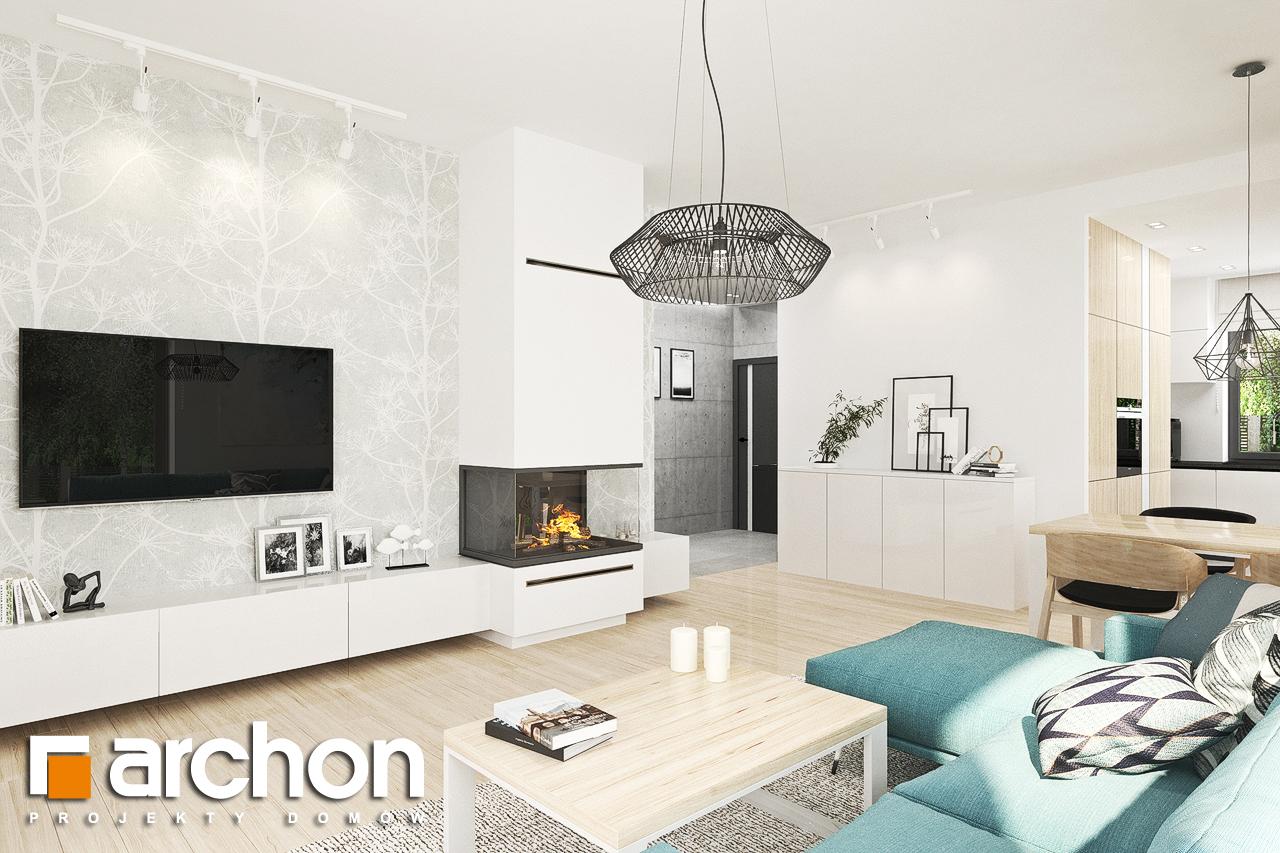 Проект будинку ARCHON+ Будинок у ренклодах 3 денна зона (візуалізація 1 від 1)