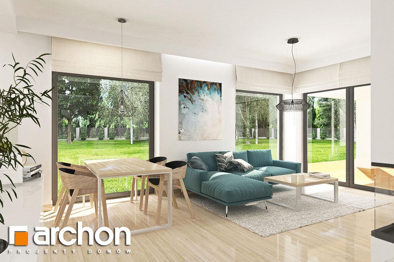 Проект будинку ARCHON+ Будинок у ренклодах 3 денна зона (візуалізація 1 від 3)