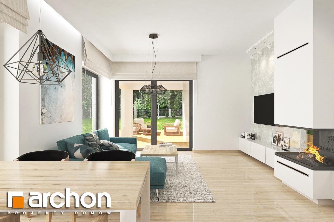 Проект будинку ARCHON+ Будинок у ренклодах 3 денна зона (візуалізація 1 від 4)