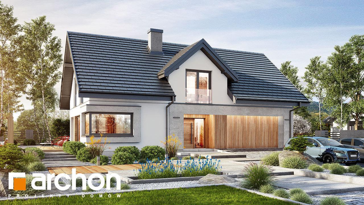 Проект будинку ARCHON+ Будинок в ізопірумі 6 (Г2)