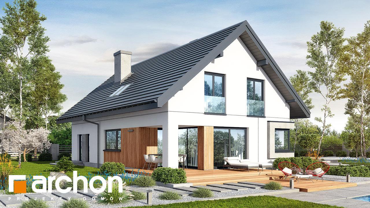 Проект дома ARCHON+ Дом в изопируме 6 (Г2)