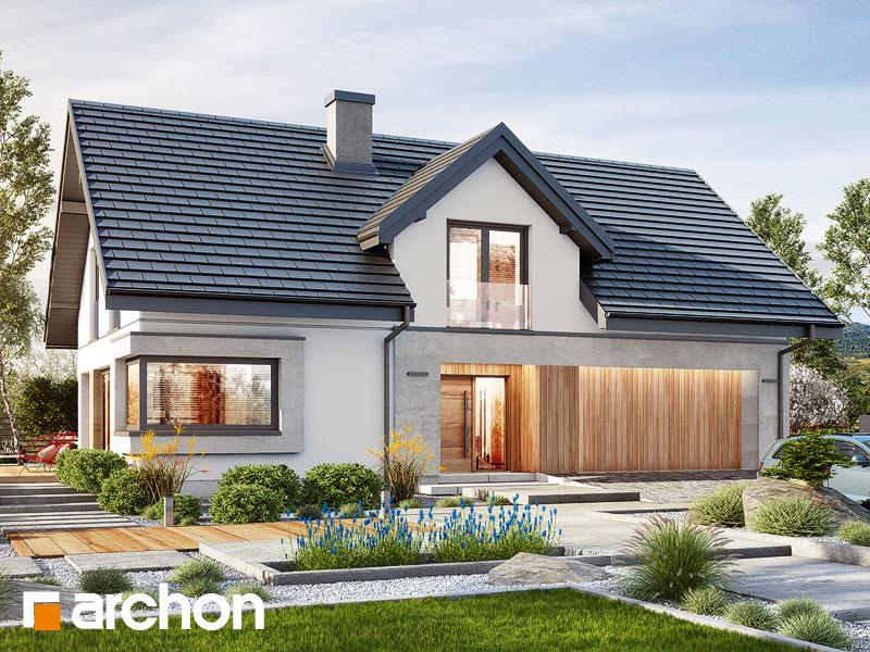 Проект дома ARCHON+ Дом в изопируме 6 (Г2) Вид 1