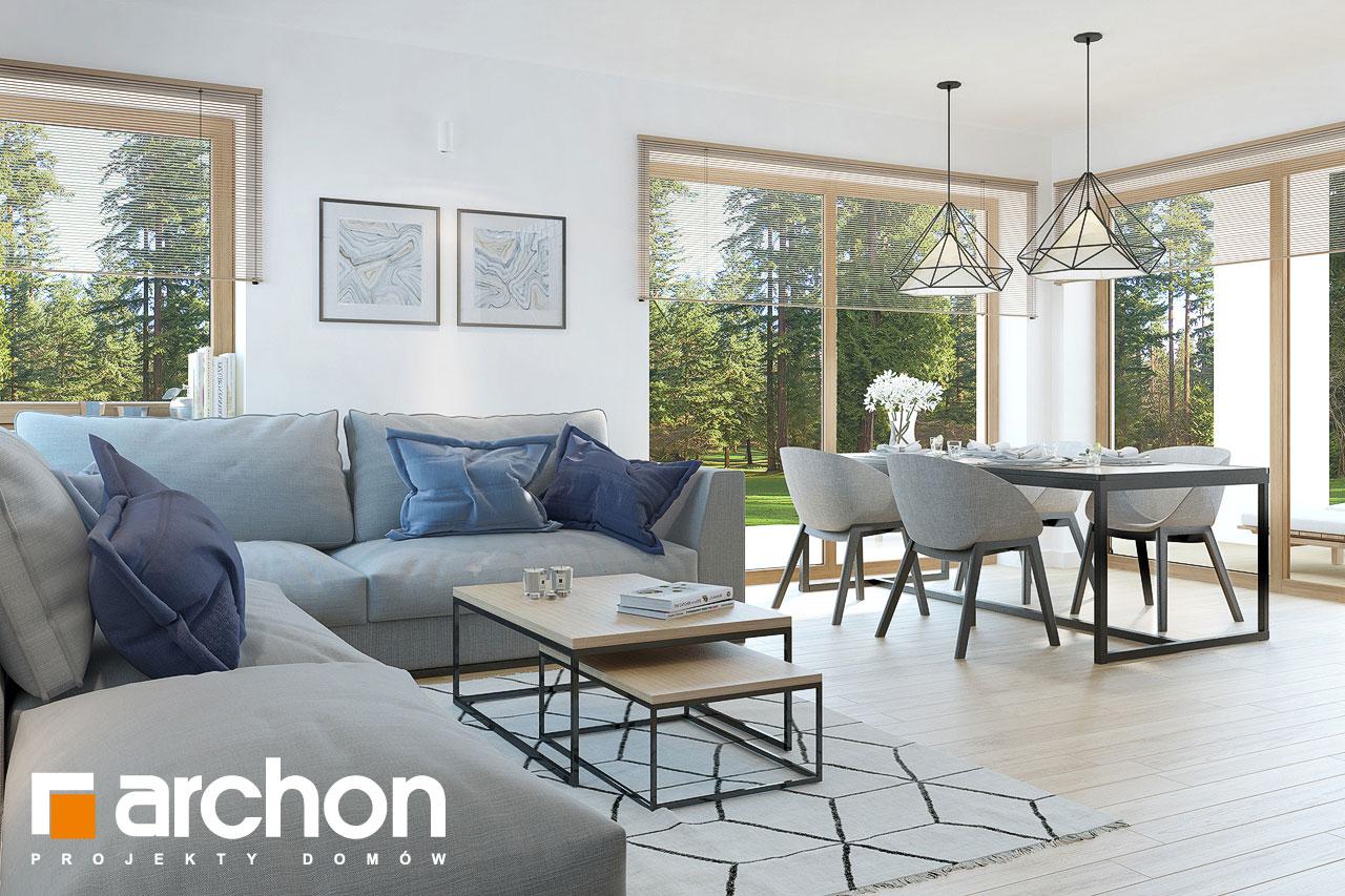 Проект дома ARCHON+ Дом в изопируме 6 (Г2) дневная зона (визуализация 1 вид 3)