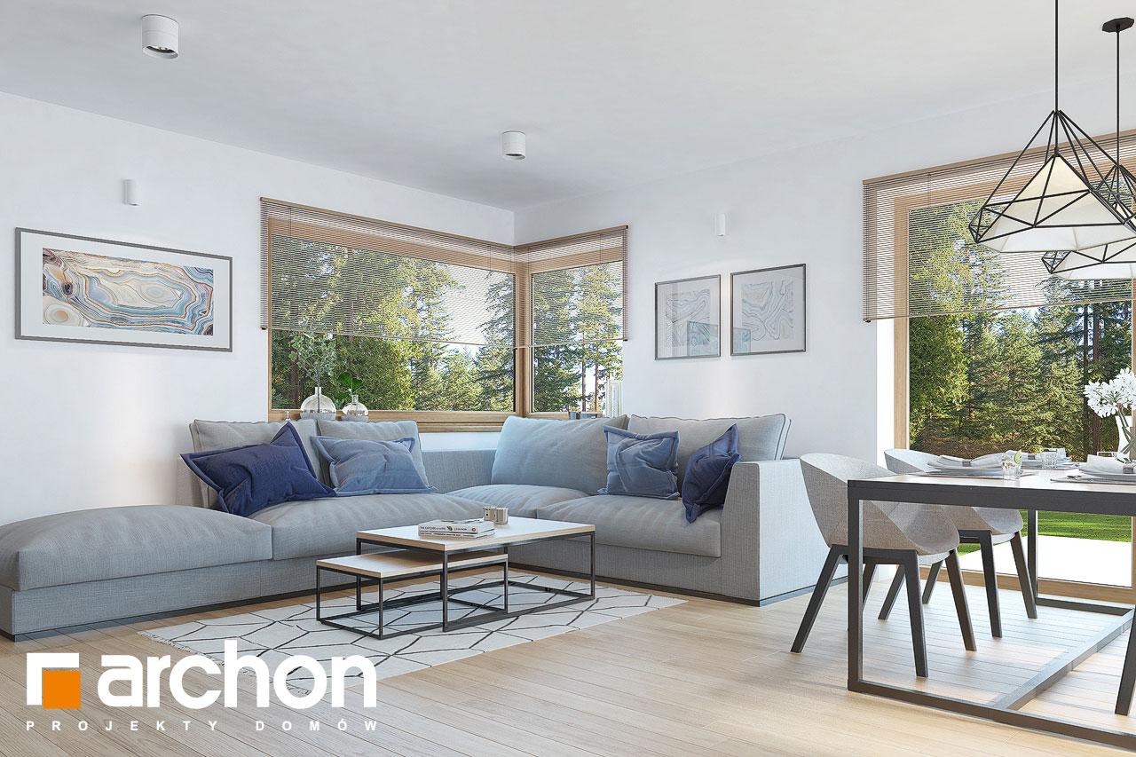Проект дома ARCHON+ Дом в изопируме 6 (Г2) дневная зона (визуализация 1 вид 5)
