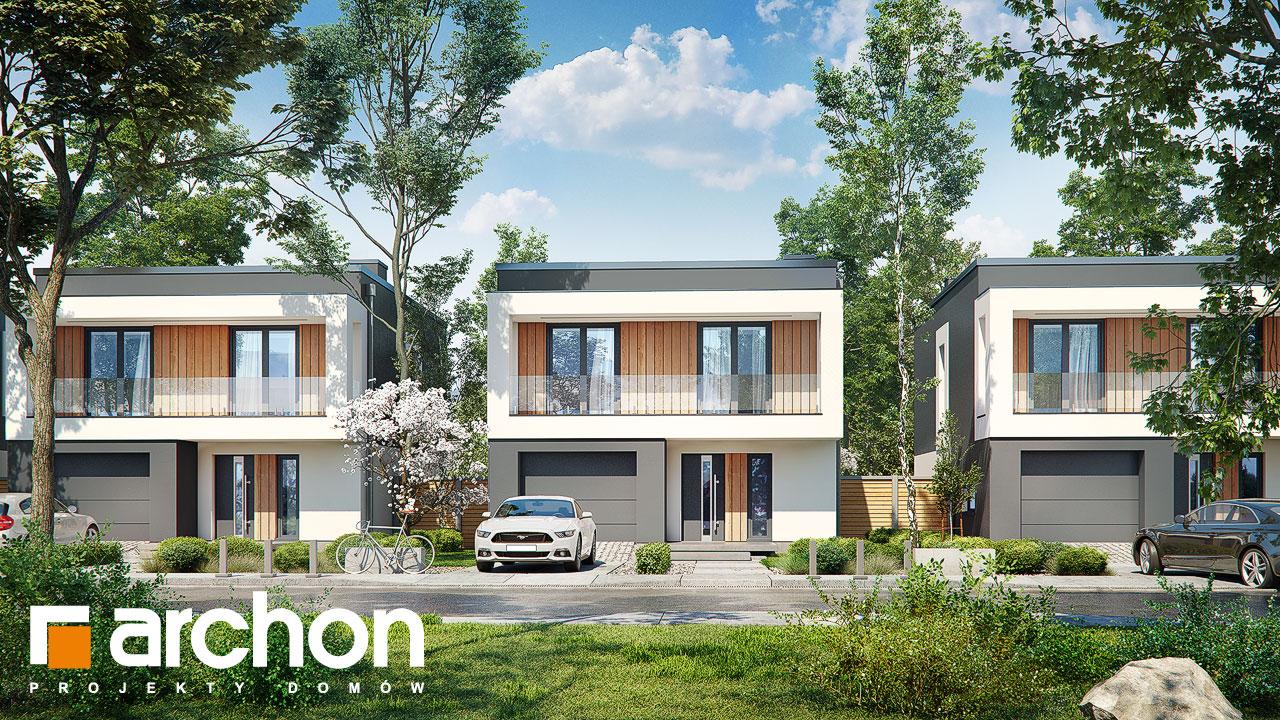 Проект будинку ARCHON+ Будинок у клематисах 24 додаткова візуалізація