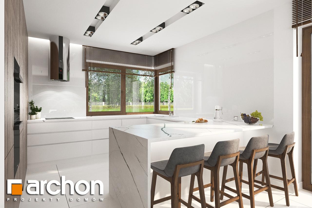 Проект будинку ARCHON+ Вілла Міранда (Г2) візуалізація кухні 1 від 1