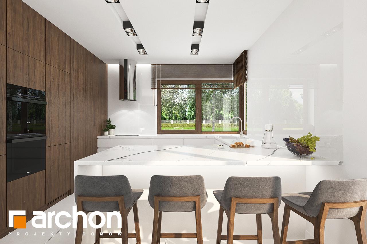 Проект будинку ARCHON+ Вілла Міранда (Г2) візуалізація кухні 1 від 2