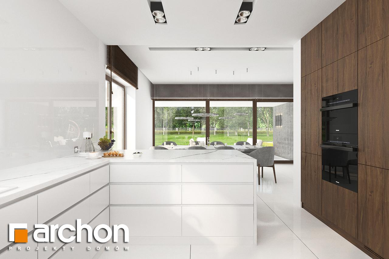 Проект будинку ARCHON+ Вілла Міранда (Г2) візуалізація кухні 1 від 3