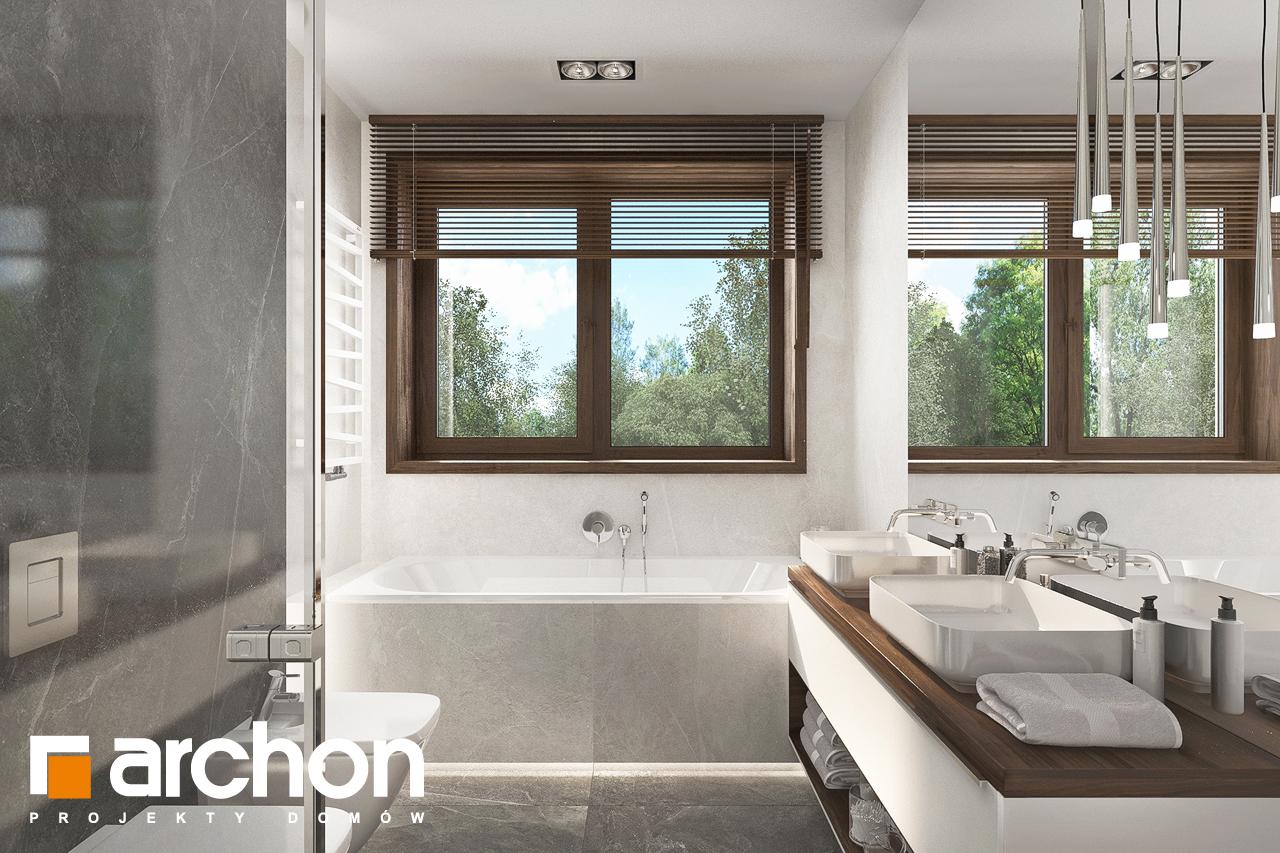 Проект будинку ARCHON+ Вілла Міранда (Г2) візуалізація ванни (візуалізація 3 від 1)