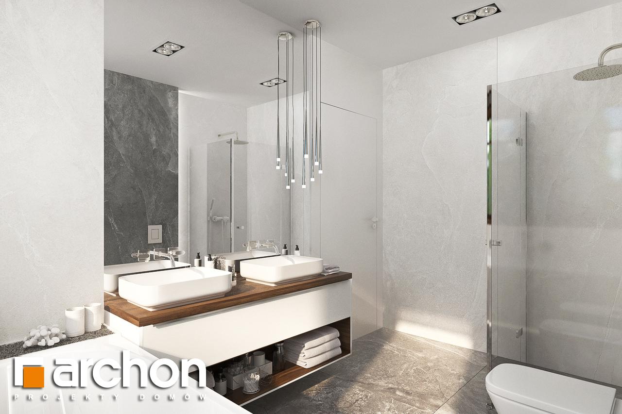 Проект будинку ARCHON+ Вілла Міранда (Г2) візуалізація ванни (візуалізація 3 від 2)