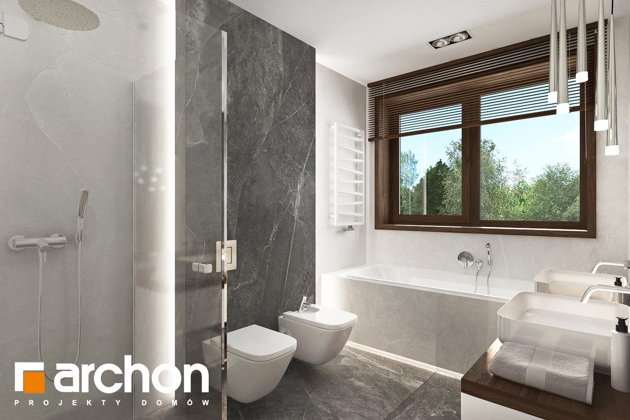 Проект будинку ARCHON+ Вілла Міранда (Г2) візуалізація ванни (візуалізація 3 від 3)