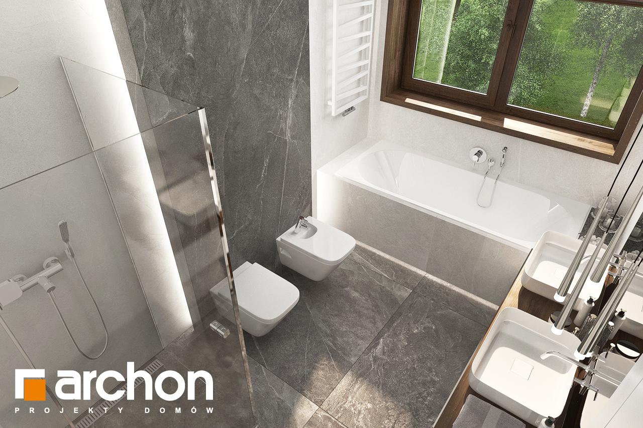 Проект будинку ARCHON+ Вілла Міранда (Г2) візуалізація ванни (візуалізація 3 від 4)