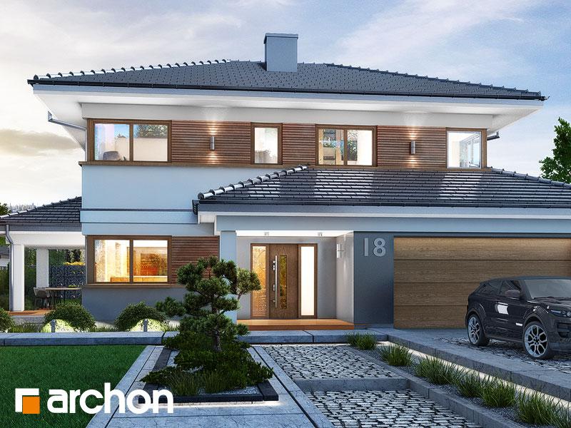 Проект будинку ARCHON+ Вілла Міранда (Г2) Вид 1