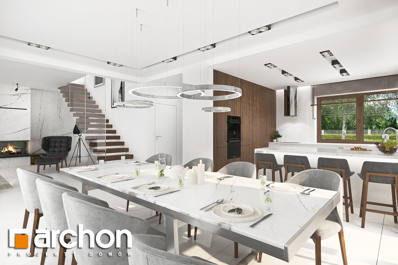Проект будинку ARCHON+ Вілла Міранда (Г2) денна зона (візуалізація 1 від 2)