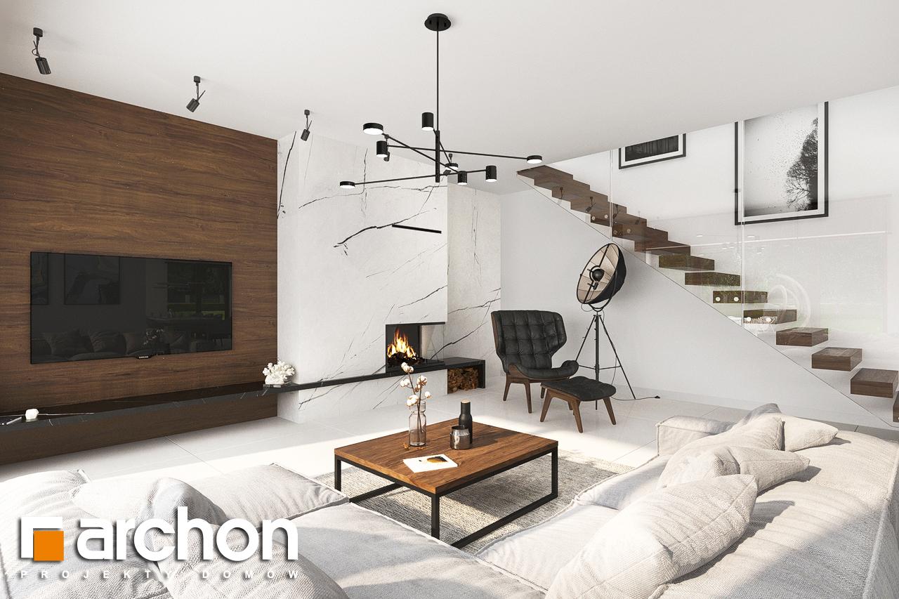 Проект будинку ARCHON+ Вілла Міранда (Г2) денна зона (візуалізація 1 від 4)