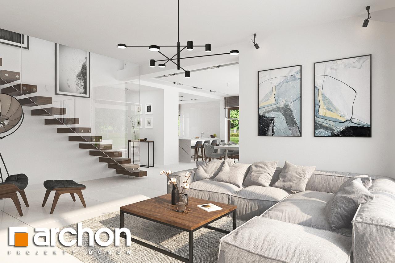 Проект будинку ARCHON+ Вілла Міранда (Г2) денна зона (візуалізація 1 від 5)