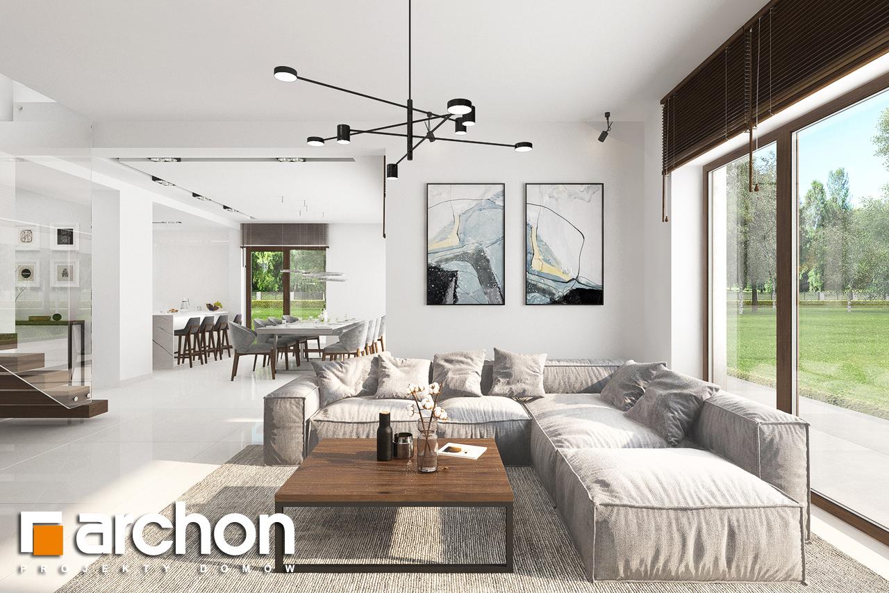 Проект будинку ARCHON+ Вілла Міранда (Г2) денна зона (візуалізація 1 від 6)