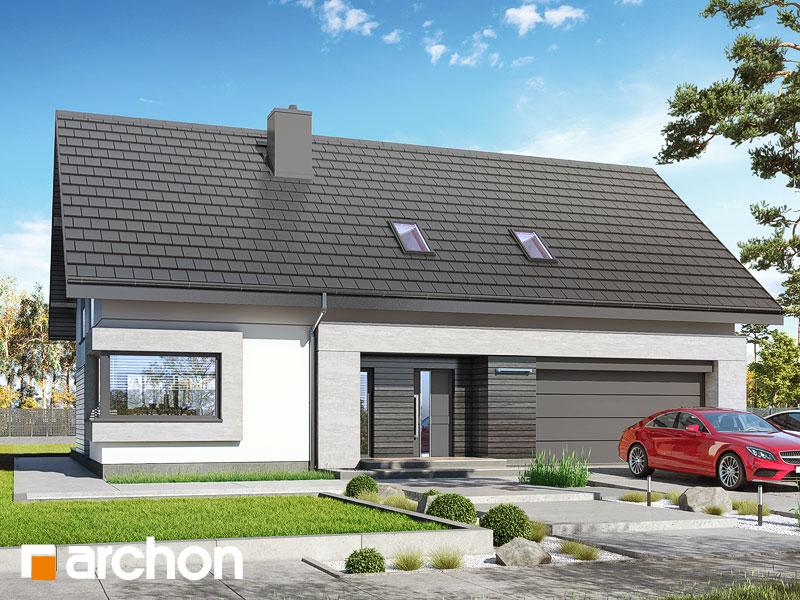Проект будинку ARCHON+ Будинок у гвоздиках (Г2) Вид 1