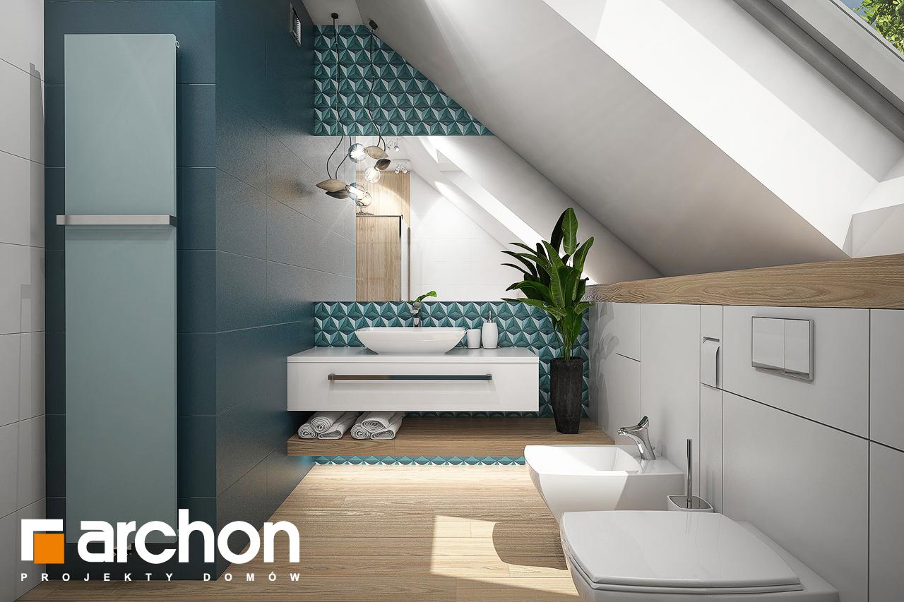 Проект будинку ARCHON+ Будинок в ізопірумі 2 візуалізація ванни (візуалізація 3 від 1)