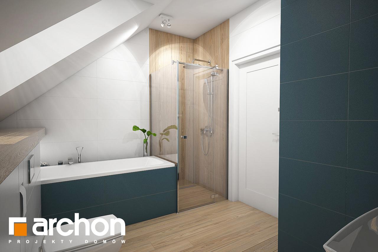 Проект будинку ARCHON+ Будинок в ізопірумі 2 візуалізація ванни (візуалізація 3 від 2)