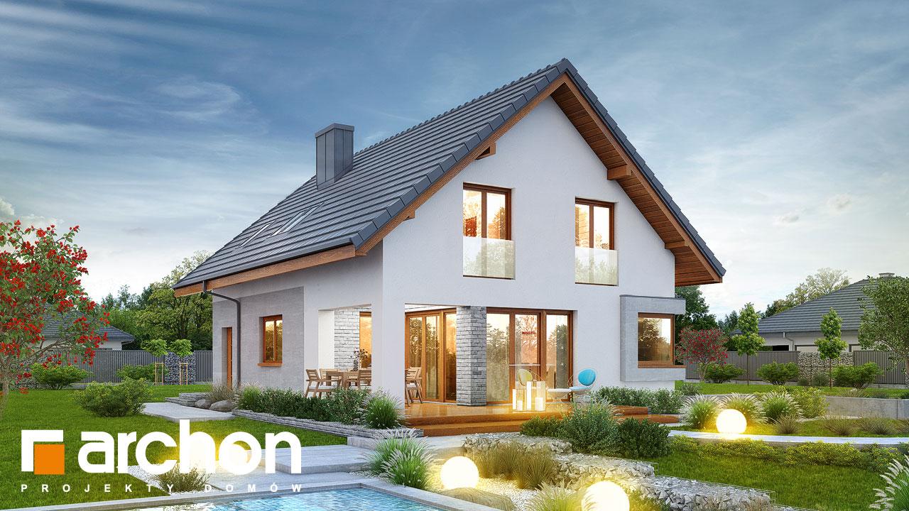 Проект будинку ARCHON+ Будинок в ізопірумі 2 Вид 2