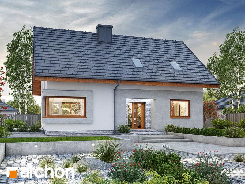 Проект будинку ARCHON+ Будинок в ізопірумі 2 Вид 1