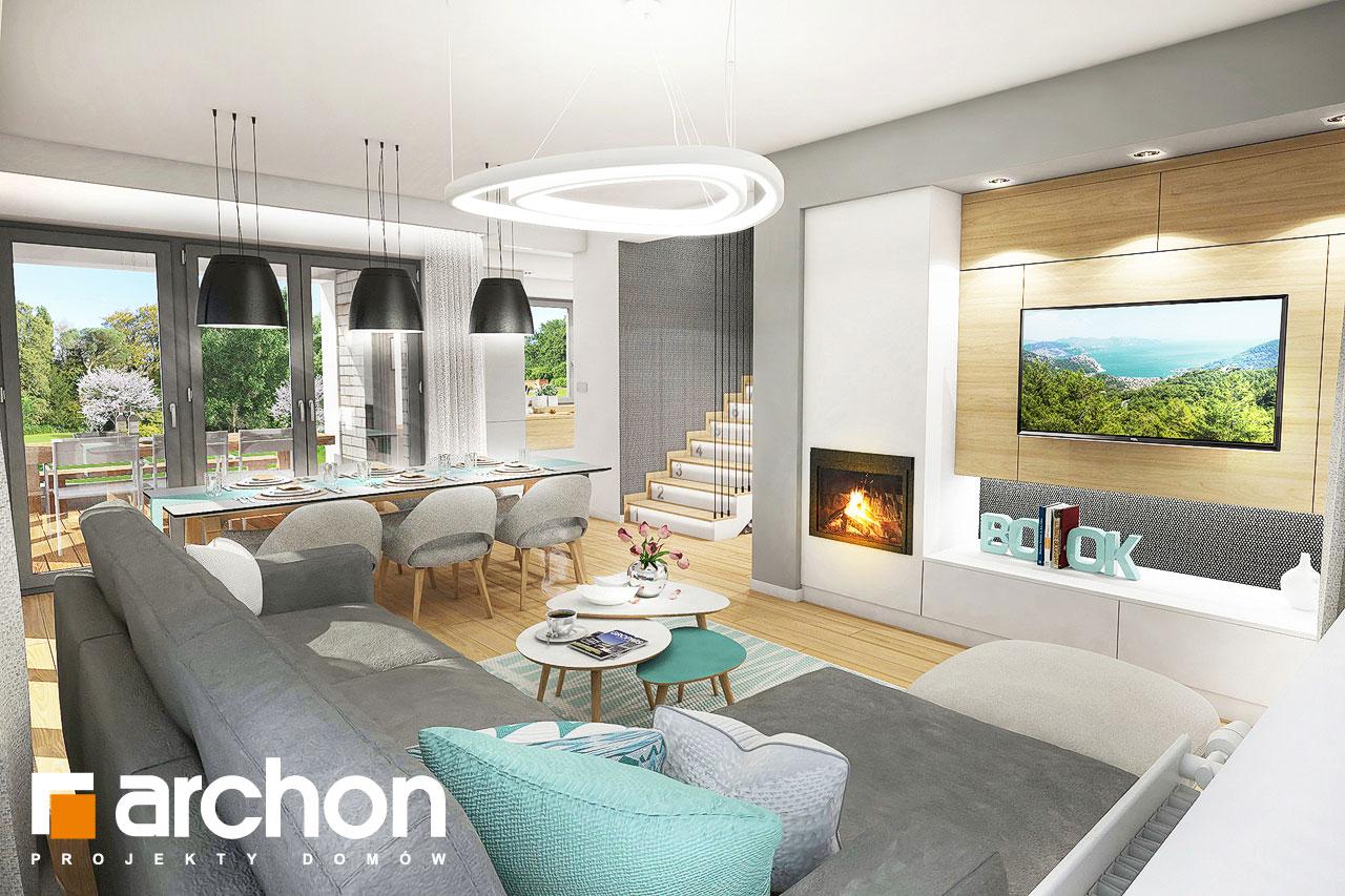 Проект будинку ARCHON+ Будинок в ізопірумі 2 денна зона (візуалізація 1 від 1)