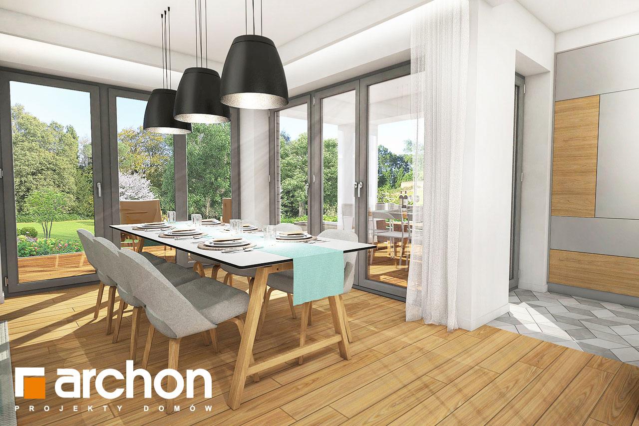Проект будинку ARCHON+ Будинок в ізопірумі 2 денна зона (візуалізація 1 від 2)