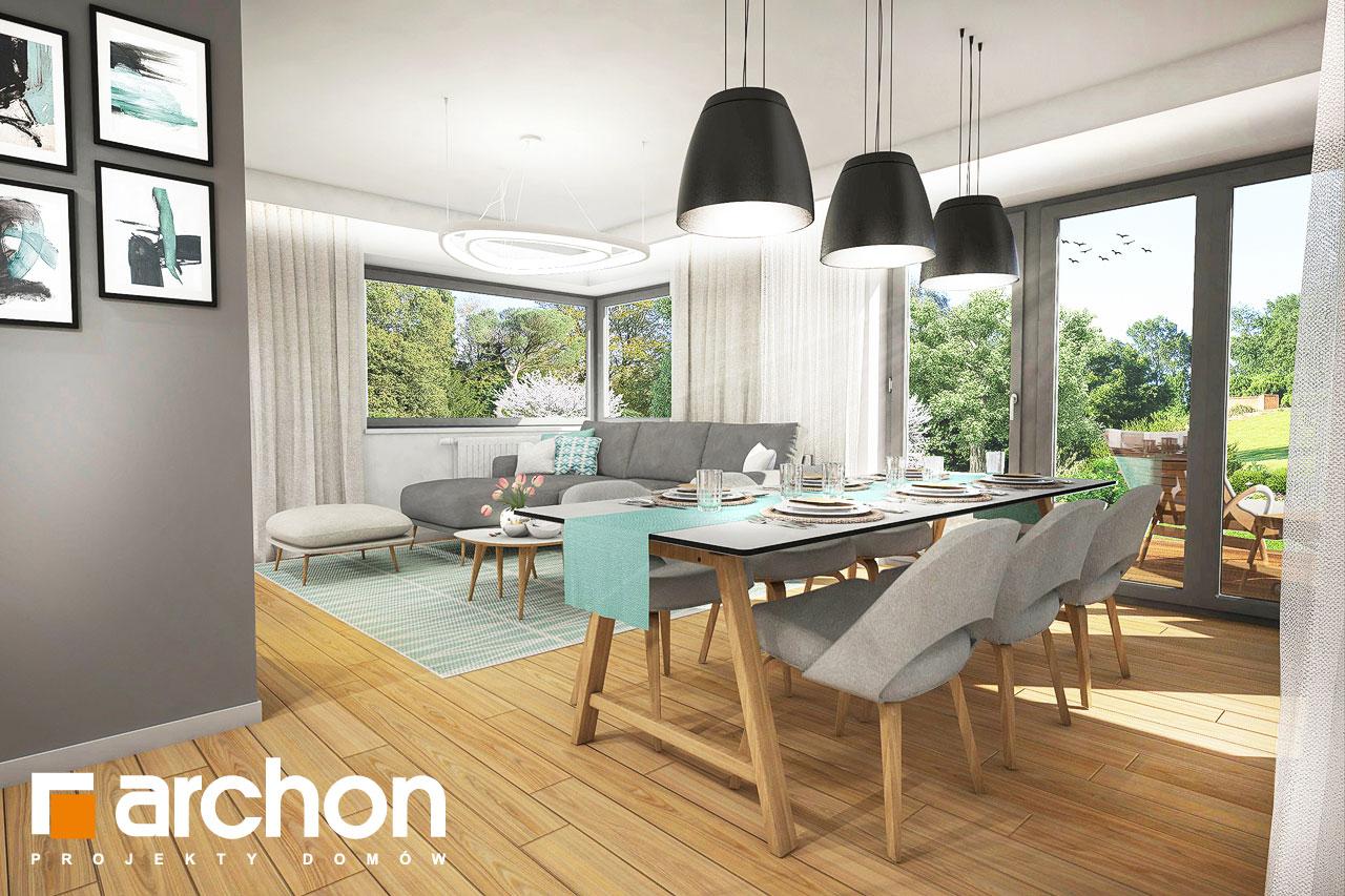 Проект будинку ARCHON+ Будинок в ізопірумі 2 денна зона (візуалізація 1 від 3)