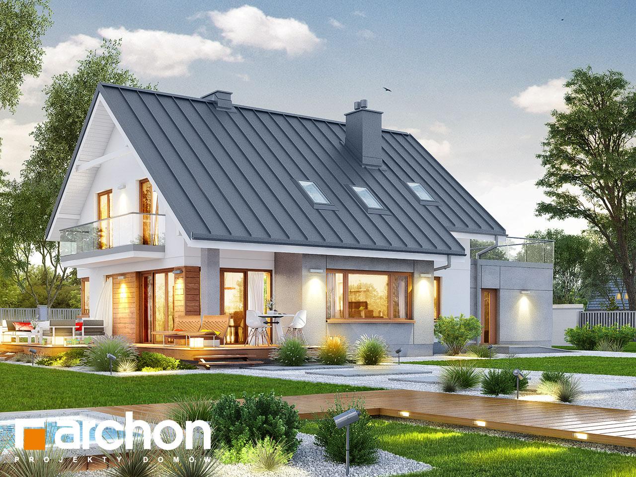 Проект будинку ARCHON+ Будинок в аурорах 4 додаткова візуалізація