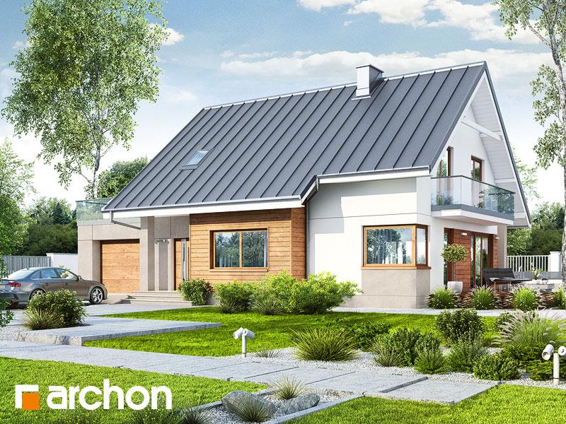Проект будинку ARCHON+ Будинок в аурорах 4 Вид 1