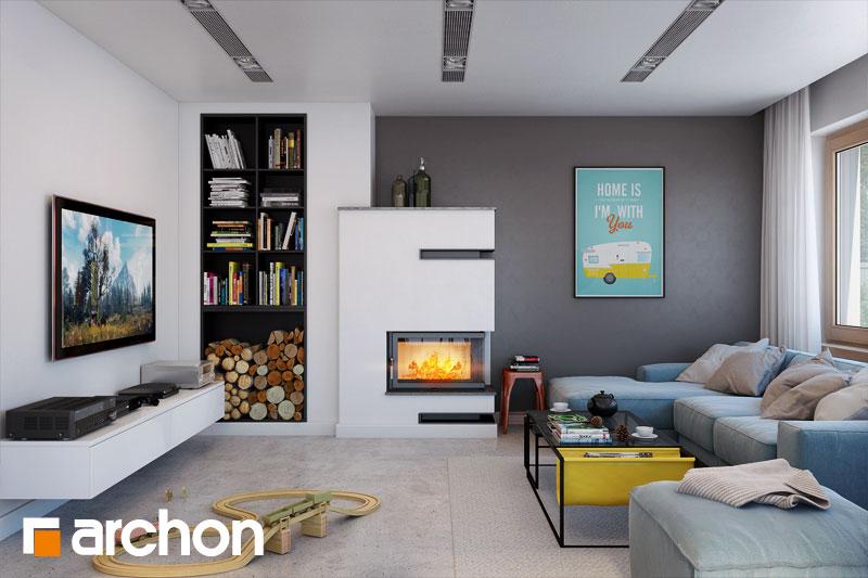Проект будинку ARCHON+ Будинок в аурорах 4 денна зона (візуалізація 1 від 1)
