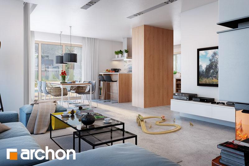 Проект будинку ARCHON+ Будинок в аурорах 4 денна зона (візуалізація 1 від 3)