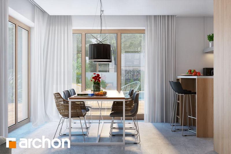 Проект будинку ARCHON+ Будинок в аурорах 4 денна зона (візуалізація 1 від 4)