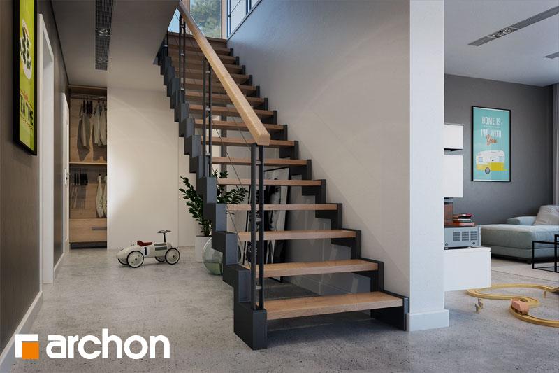 Проект будинку ARCHON+ Будинок в аурорах 4 денна зона (візуалізація 1 від 5)