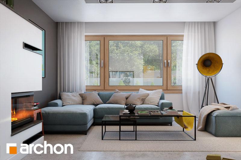Проект будинку ARCHON+ Будинок в аурорах 4 денна зона (візуалізація 1 від 7)