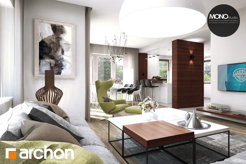 Проект будинку ARCHON+ Будинок в аурорах 4 денна зона (візуалізація 2 від 2)